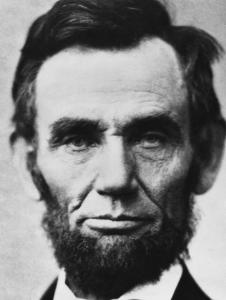 Sanpaku Abraham Lincoln