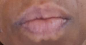 White Line Around the Lips - Rebecca Wood