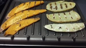 Grilled Sweet Potato and Yam