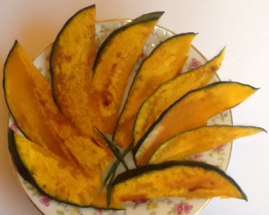 Pan-Fried Kabocha Pumpkin